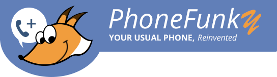 PhoneFunky - your usual phone, reinvented